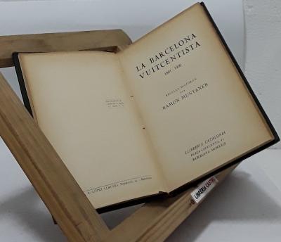 La Barcelona vuitcentista 1801-1900 - Ramon Muntaner