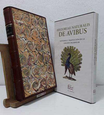 Historiae Naturalis de Avibus (Facsímil y Numerado) Estudios y traducción de la edición facsimilar (II Tomos) - Johannes Jonstonus