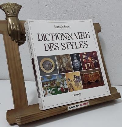 Dictionnaire des styles - Germain Bazin
