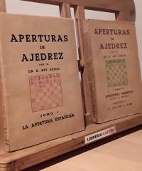 Aperturas de Ajedres. Tomos I y II - El Rey Ardid