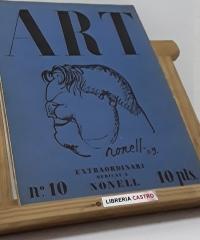 Art. Publicació de la Junta Municipal d´Exposicions d´art de Barcelona. Del nº I al X (X volums) - Varis
