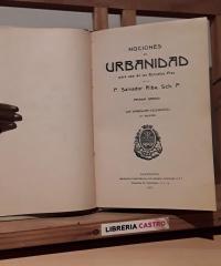 Nociones de urbanidad. Primer Grado - P. Salvador Riba