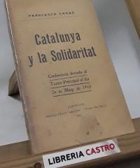 Catalunya y la Solidaritat - Francesch Cambó