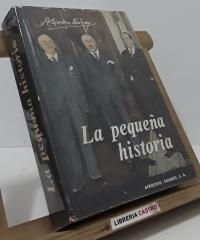 La pequeña historia - Alejandro Lerroux