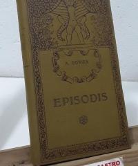 Episodis - A. Rovira y Virgili