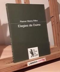 Elegies de Duino - Rainer Maria Rilke