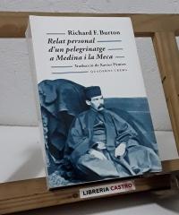 Relat personal d'un peregrinatge a Medina i la Meca - Richard F. Burton