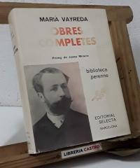 Marià Vayreda. Obres Completes - Marià Vayreda
