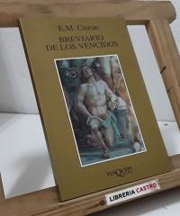 Brevario de los vencidos - E.M. Cioran