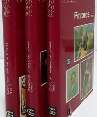 Diccionario Universal del Arte y los Artistas. Pintores (III Tomos) - Varios