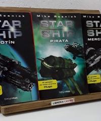 Star Ship. Motín. Pirata. Mercenario (III Tomos) - Mike Resnick