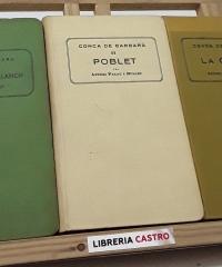 Conca de Barbarà (III volums) - Antoni Palau i Dulcet