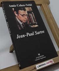 Jean Paul Sartre - Annie Cohen-Solal