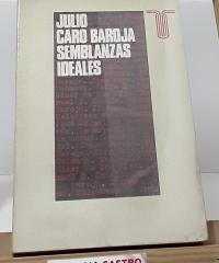 Semblanzas ideales - Julio Caro Baroja