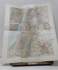 Mapa de Palestina. Edició especial per a La Biblia. Obsequi als subscriptors - Dr Hans Fischer i Prof H. Guthe
