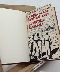 La obra de los Jesuítas ante la crítica alemana - Amado González