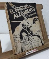 El derecho al alzamiento - A. de Castro Albarrán