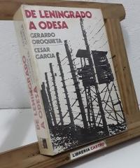 De Leningrado a Odesa - Gerardo Oroquieta y César Garcia