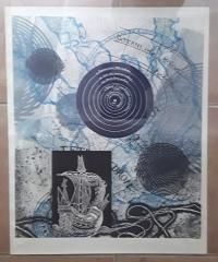 Litografía de Joan Josep Tharrats. 26ª Fira del Llibre d'Ocasió Antic i Modern 20/120 - Joan Josep Tharrats