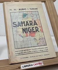 Sahara-Níger - N. Mª Rubió i Tudurí