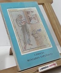 Catálogo de la exposición de códices miniados españoles - Unión Internacional de editores XVI Congreso