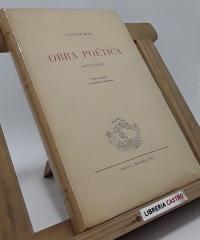 Obra Poética. Antología - Carles Riba