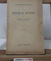 Escuelas activas - Lorenzo Luzuriaga