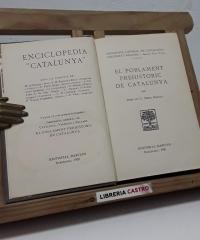 El poblament prehistoric de Catalunya - Josep de C. Serra Ràfols