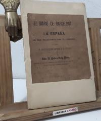 El diario de Barcelona. La España en sus relaciones con el ateismo, ó sea el moderantismo español y el ateismo - Pedro Reig