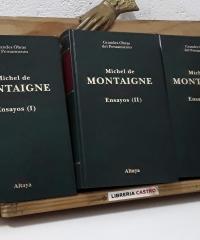 Ensayos Montaigne. (III Tomos) - Michel de Montaigne