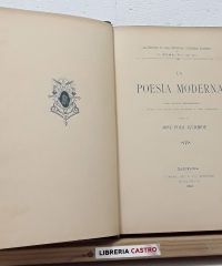 La poesía moderna - José Fola Igúrbide