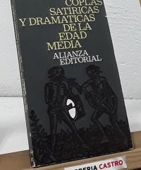 Coplas satíricas y dramáticas de la Edad Media - Varios
