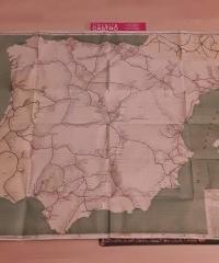 Mapa de los ferrocarriles españoles - Compilación de Giol