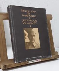 Miscel.lània en Homenatge a Joan Ainaud de Lasarte. (Volum I) - Varios