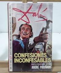 Confesiones inconfesables - Salvador Dalí y André Parinaud