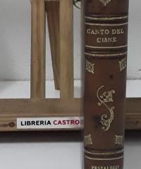 Canto del Cisne (II Tomos encuardernados en 1 volumen) - Pestalozzi