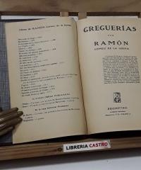 Greguerías - Ramón Gómez de la Serna