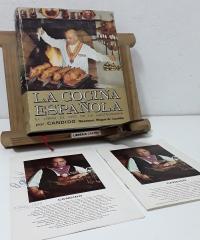 La Cocina Española. El libro de Oro de la Gastronomía por Cándido. Mesonero Mayor de Castilla. (Firmado por Cándido) - Cándido