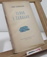 Temor y temblor - Sören Kierkegaard
