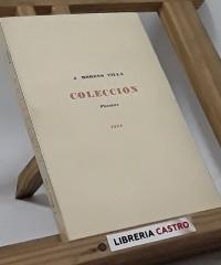 Colección Poesías 1924 (edición numerada) - J. Moreno Villa