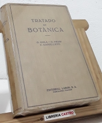 Tratado de Botánica - Giuseppe Gola, Giovanni Negri y Carlo Cappelletti