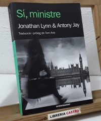 Sí, ministre - Jonathan Lynn & Antony Jay