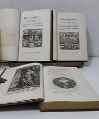 Characterifticks of Men, Manners, Opinions, Times In Three Volumes - Anthony Asle, Earl of Shaftesbury