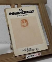 El innombrable - Samuel Beckett