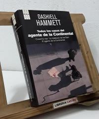 Todos los casos del agente de la Continental - Dashiell Hammett