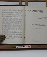 La Alhambra - Luis Seco de Lucena