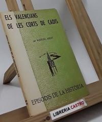 Els valencians de les Corts de Cadis - Manuel Ardit