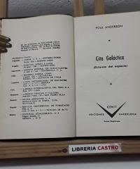 Cita galáctica. Gitanos del espacio - Poul Anderson