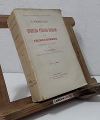 Compendio del Derecho Público Romano - Teodoro Momsen