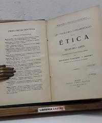 Los problemas fundamentales de la ética - Teodoro Lipps